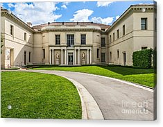 The Magnificent Huntington Art Gallery. Acrylic Print