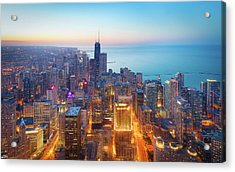 The Magnificent Mile Acrylic Print