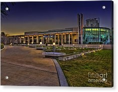 The Mahaffey Theater Acrylic Print by Marvin Spates