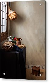 Acrylic Print featuring the photograph The Maid Has Left by Levin Rodriguez