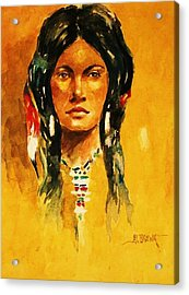 The Maiden Ll Acrylic Print by Al Brown