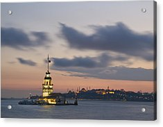 The Maiden's Tower  Acrylic Print by Ayhan Altun