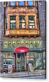 The Majestic Restaurant Acrylic Print by Liane Wright
