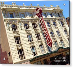 Acrylic Print featuring the photograph The Majestic Theater Dallas #1 by Robert ONeil