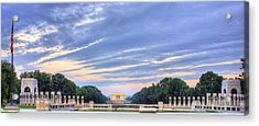The Mall Acrylic Print by JC Findley