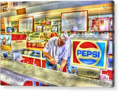 The Malt Shoppe Acrylic Print