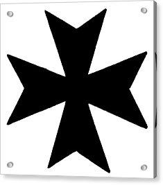 The Maltese Cross Acrylic Print by Granger