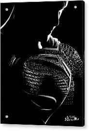 The Man Of Steel Acrylic Print by Kayleigh Semeniuk