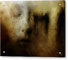 The Man Who Dreamt He Was A Sculpture Acrylic Print by Gun Legler