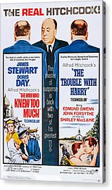 The Man Who Knew Too Much On Double Acrylic Print by Everett