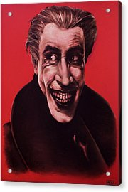 The Man Who Laughs Acrylic Print