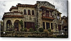 The Manor Acrylic Print by Audrey Wilkie