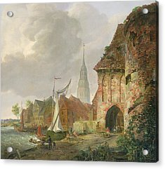 The March Gate In Buxtehude Acrylic Print