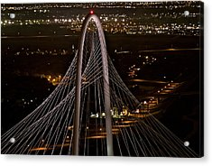 The Margaret Hunt Hill Bridge Acrylic Print by John Babis