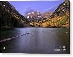 The Maroon Bells Acrylic Print