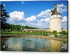 The Marques Tower And Fountain Acrylic Print