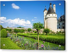 The Marques Tower And Garden Acrylic Print