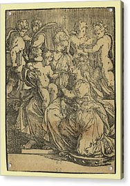 The Marriage Of St. Catherine Acrylic Print