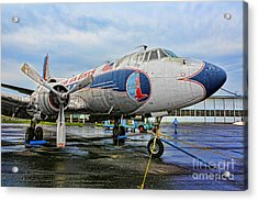The Martin 404 - Eastern Airlines Acrylic Print by Lee Dos Santos