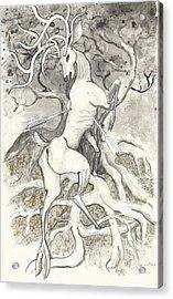 The Martyr Acrylic Print