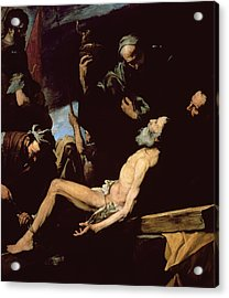 The Martyrdom Of Saint Andrew Acrylic Print by Jusepe de Ribera