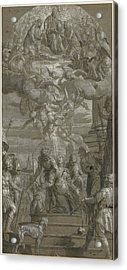 The Martyrdom Of Saint Justina Paolo Veronese Paolo Acrylic Print by Litz Collection