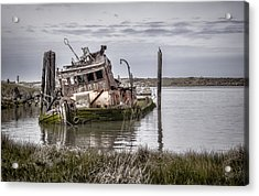 The Mary D. Hume Acrylic Print by Heather Applegate