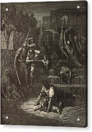 The Massacre Of The Innocents Acrylic Print by Antique Engravings