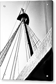 The Mast Of The Peacemaker Acrylic Print