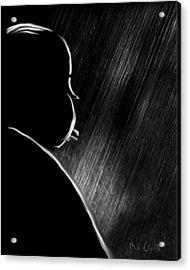 The Master Of Suspense Acrylic Print by Bob Orsillo