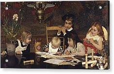 The Master Painter Acrylic Print