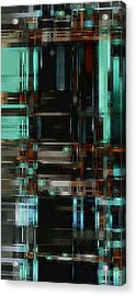 The Matrix 3 Acrylic Print