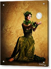 The May Queen Acrylic Print by Rick Buggy