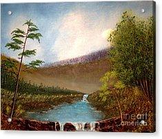 The Meadows Acrylic Print