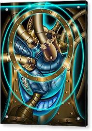 The Mechanical Heart Acrylic Print