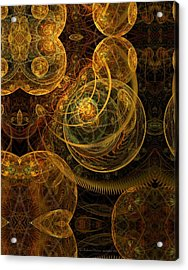 The Mechanical Universe Acrylic Print by Gayle Odsather