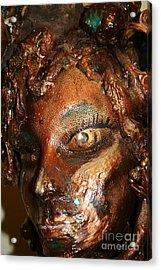 The Medusa Snare  Acrylic Print by Avonelle Kelsey