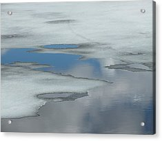 Acrylic Print featuring the photograph The Melt by Gene Cyr