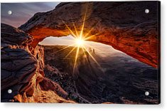 The Mesa Arch Acrylic Print