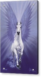The Messenger Acrylic Print