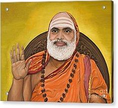 The Messenger Acrylic Print by Sweta Prasad
