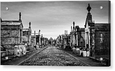 The Metairie Cemetery Acrylic Print by Tim Stanley