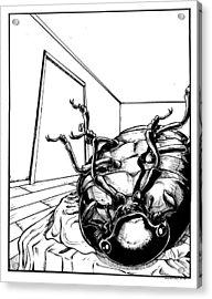 The Metamorphosis Acrylic Print by John Ashton Golden