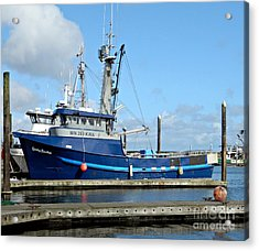 The Mighty Blue Acrylic Print by Chalet Roome-Rigdon