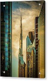 The Mighty burj Acrylic Print