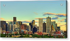 The Mile High City Acrylic Print