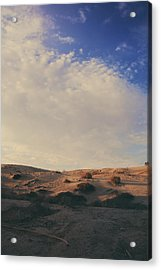 The Miles Between Us Acrylic Print by Laurie Search