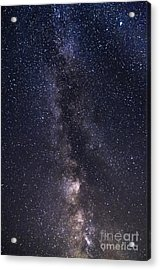 The Milky Way From Phippsburg Maine Usa Acrylic Print