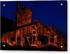 The Mill Acrylic Print by Greg Thelen