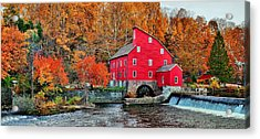 The Mill In Clinton Acrylic Print